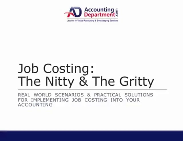 Wistia video thumbnail - Job Costing- The Nitty %26 The Gritty