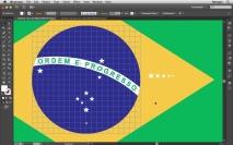 Bandeira do Brasil 05 - Criando e posicionando as Estrelas