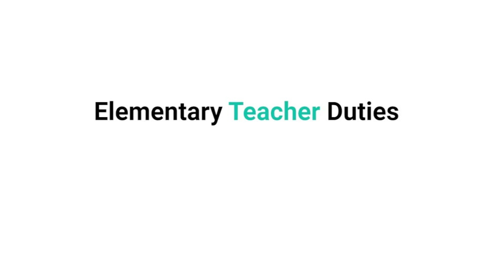 learn what elementary teachers do on the job | all education schools