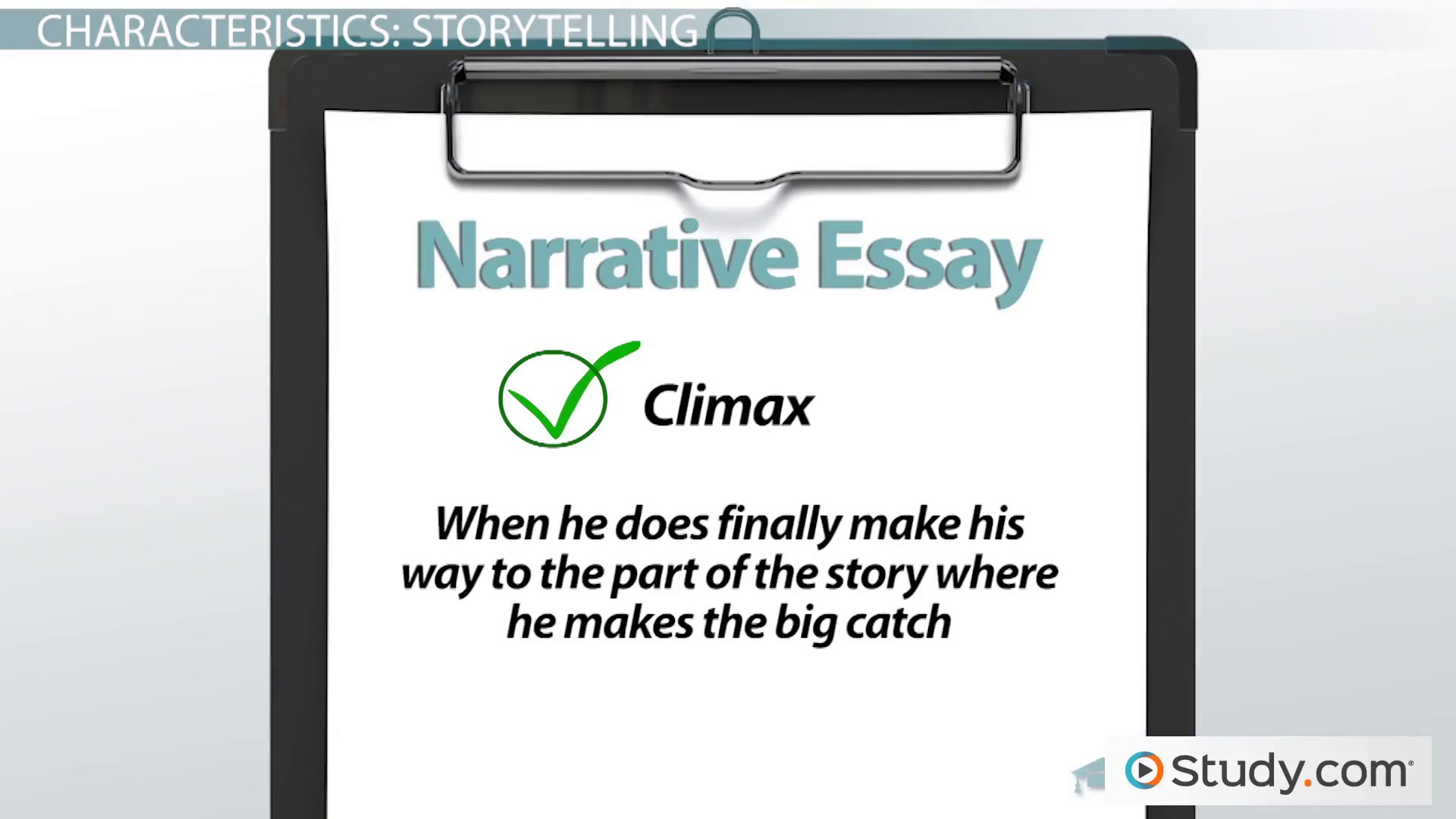How can i improve my narritive essay ?