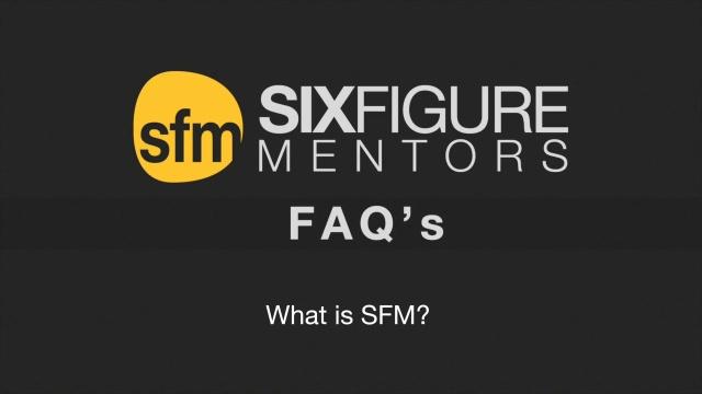 Wistia video thumbnail - What is SFM?