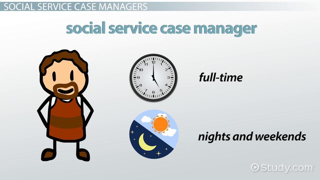 sample resume for social service case manager