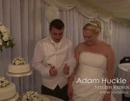 Wedding Cake Cutting Blooper