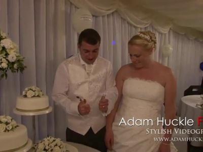 Wedding Cake Cutting Blooper
